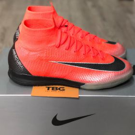 Nike Mercurial Superfly Elite VI CR7 IC  - ẠJ3571600 - Flash Crimson / Chorme / Dark Grey / Black
