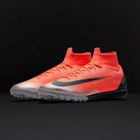 NIKE MERCURIAL SUPERFLY ELITE VI CR7 TF  - FLASH CRIMSON/CHROME/DARK GREY/BLACK