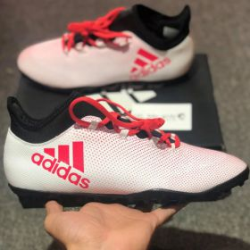 ADIDAS X TANGO 17.3 TURF BOOTS - FTWR WHITE / REAL CORAL S18 / CORE BLACK