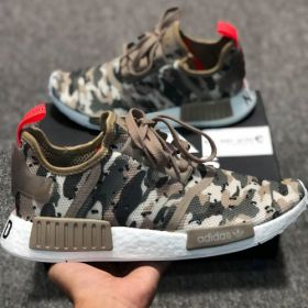 ADIDAS NMD R1 - CLEAR BROWN / CLEAR BROWN / SOLAR RED