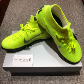 NIKE MERCURIAL SUPERFLY VI ELITE TF - VOLT / BLACK