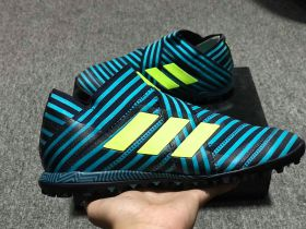 ADIDAS NEMEZIZ TANGO 17+ 360 AGILITY TURF BOOTS - LEGEND INK /SOLAR YELLOW/ENERGY BLUE