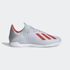 ADIDAS X 19.3 IN - SILVER METALLIC / HI-RES RED / CLOUD WHITE
